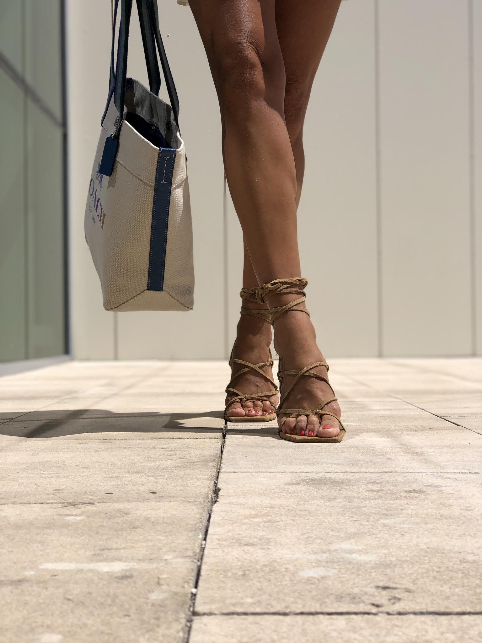 sandalia thong