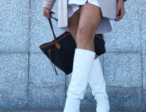 Botas blancas, ¿Invierno?